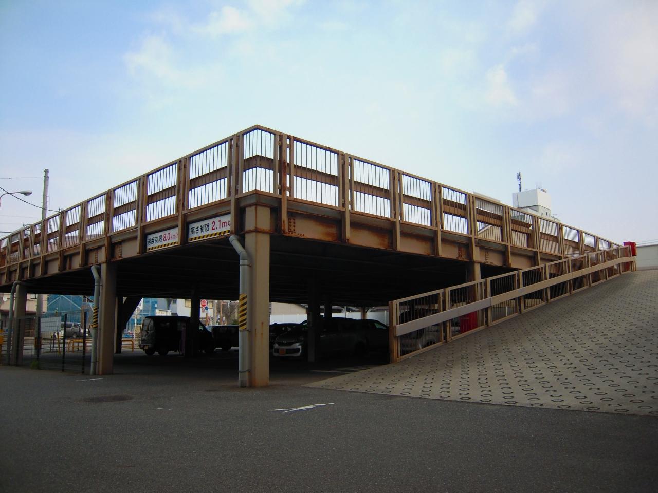 新潟市白山庁舎 立体駐車場