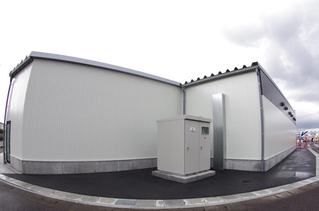ひらせいホームセンター分水店 軽量鉄骨造 新潟プレハブ工業